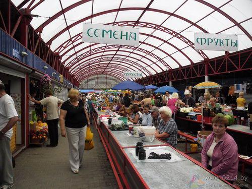 Полоцкий колхозный рынок новости продавцов